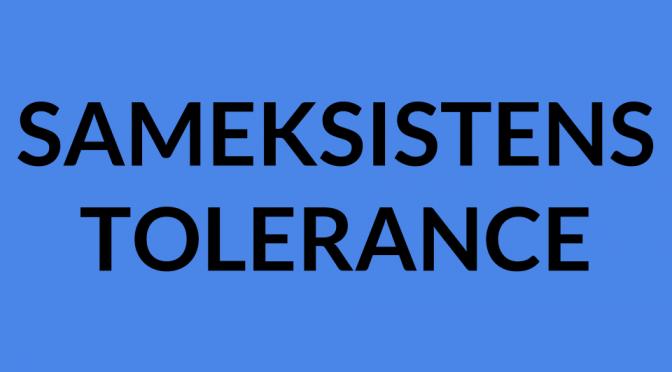 Opfordring til religiøs tolerance og sameksistens
