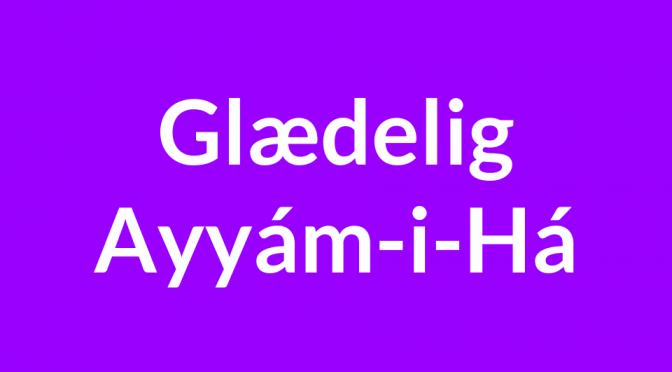 Ayyám-i-Há fest 2015